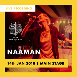 Naâman - Goa Sunsplash 2018 - Main Stage (LIVE)