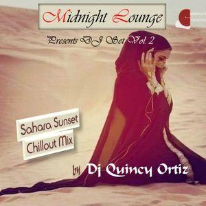 Midnight Lounge DJ Set Vol.2 Sarah Sunset Chillout Mix by Dj Quincy Ortiz