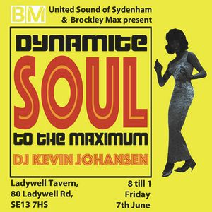 SOUL TO THE MAX LADYWELL TAVERN