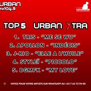 Urban Xtra Top 5 du 5 Janvier 2018