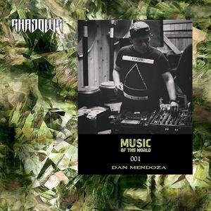 MUSIC OF THE WORLD 001 / DAN MENDOZA