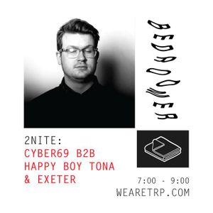 BEDROOMER w CYBER69 B2B HAPPY BOY TONA + EXETER - MAY 11 - 2015
