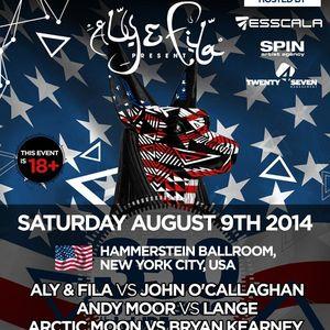 Monoverse b2b Sied Van Riel – Live @ FSOE 350, Hammerstein Ballroom (New York) – 09-AUG-2014