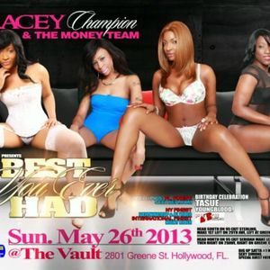 TRACEY CHAMPION THE BEST YOU EVER HAD PROMO MIX TAPE