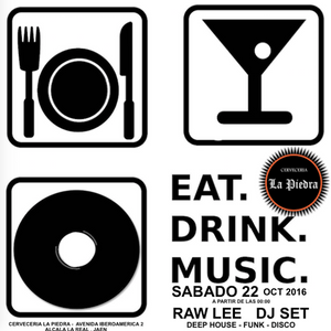 L@Piedra - Eat, Drink & Music (oct/2016) by Raw Lee