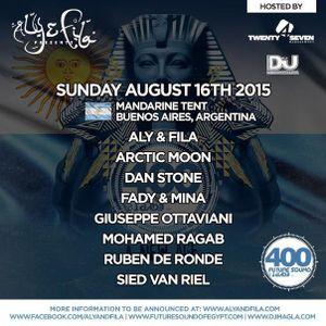 Dan Stone live @ Future Sound of Egypt 400 ( Argentina ) 16.08.2015