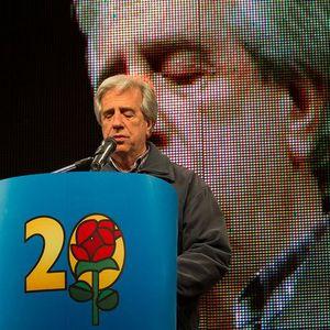 Tabaré Vázquez en el Acto del Seccional 20  26/4