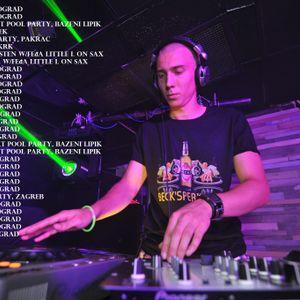 DJ Symart - HR Osijek (27.06.2015.) - Noć u gradu(hosted by DJ Milly)