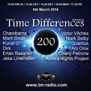Jeka Lihtenstein-guest mix Time Differences Radioshow 200 on TM Radio (6th March 2016)