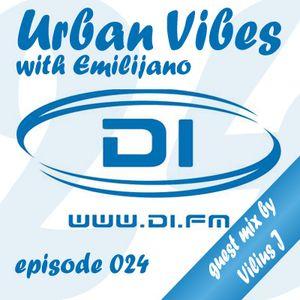 Emilijano - Urban Vibes episode 024 (guest mix by Vilius J) [DI.FM]