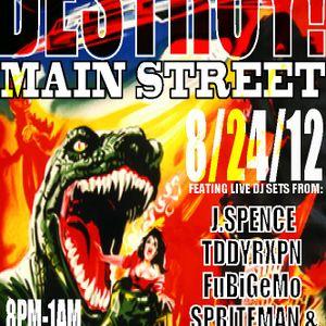 Spriteman - Destroy! Main Street! (Demo mix for drummer rudoFF)