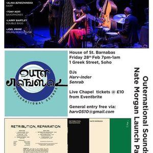 Outernational Sounds & Friends with Alina Bzhezhinska 28th May 2021 www.pointblank.fm