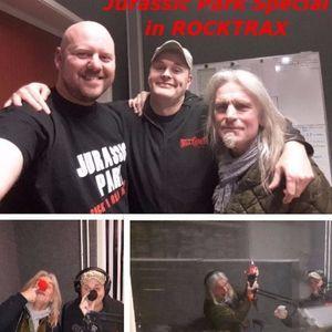 Rocktrax 25 February 2017 8 - 9 pm CET (Jurassic Park Special)