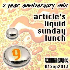 Article's Liquid Sunday Lunch [2-Yr Anniversary] - Chinook 01/09/13