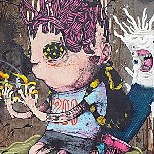 Les stars du street art à Mulhouse avec Orlinda Lavergne - Galeriste arts urbains