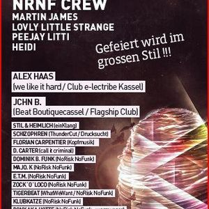Dominik B. Funk @ NRNF Paderborn pres. ALEX HAAS (we like it hard  Club e-lectribe Kassel) 07.04.12