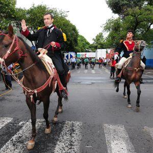 Cabalgata conmemorativa Batalla de Churubusco