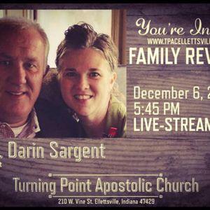 Sunday Night December 6, 2015 Bro. Sargent