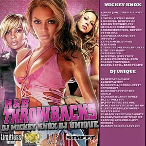 Dj Mickey Knox and Dj Unique Present-R&B Throwbacks