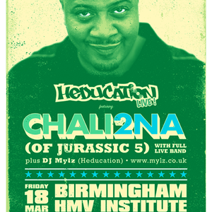 DJ Mylz - Chali 2na (Jurassic 5) Warm Up Mix (Live) - Pt 2