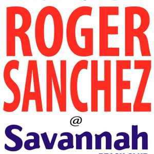 Roger Sanchez - Live @ Savannah, Ibiza, Espanha (25.06.2012)