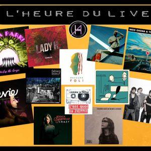 L'Heure du Live - Découverte d'artistes (mars 2021)