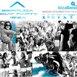 UNER / Live broadcast from Bermuda boat party / 4.09.2012 / Ibiza Sonica