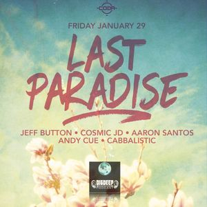JB096 - Last Paradise @ CODA (2016)