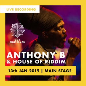 Anthony B & House of Riddim - Goa Sunsplash 2019 - Main Stage (Live)