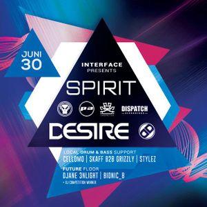 Spirit @ Interface Session, Bremen - 30th June 2018
