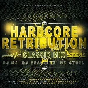 DJ NJ b2b Upalnite Feat. MC Steal - Hardcore Retribution