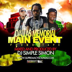Dallas Memorial MAIN EVENT Promo CD