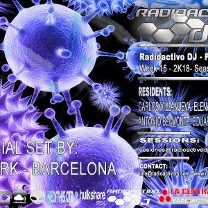 RADIOACTIVO DJ 15-2018 BY CARLOS VILLANUEVA