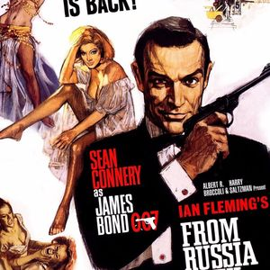 62. Secret Agent Special : From Russia with Love, Our Man Flint, The Man from U.N.C.L.E