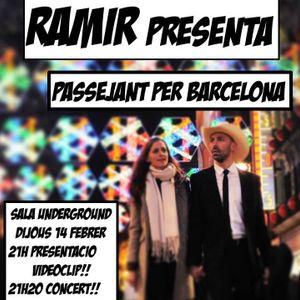 """Entrevista amb Ramir Guiu (presentació del videoclip """"Passejant per Barcelona"""")"""