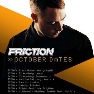 Friction (Shogun Audio, Elevate Records) @ DJ Target Radio Show, BBC 1Xtra (01.09.2017)