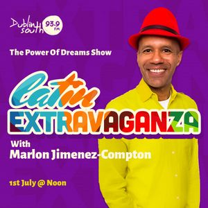 Marlon's Latin Extravaganza is a bonanza of joy, great vibes and colorful feelings.