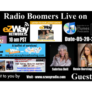 Radio Boomers Live S8 EP 36 Feat. Sabrina Bell & Rosie Barciaga Delgado
