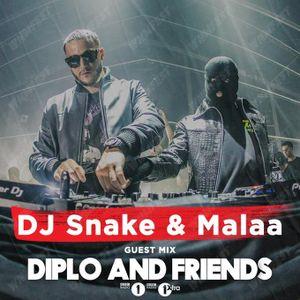 DJ Snake b2b Malaa - Diplo and Friends (31.08.2019) (Live Hard Summer Festival 2019)