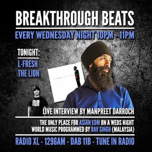 #16 Breakthrough Beats - L-Fresh The Lion Interview (RadioXL)