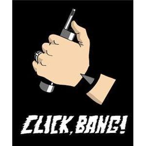 Click, Bang! - .357 release/The News With Jacinda