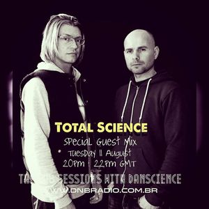 Total Science (CIA Records, Shogun Audio) @ The Lab Sessions, DnB Radio - Brazil (12.08.2015)