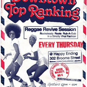 ++DownTown Top Ranking - March 2012 w. Panza (Supersonic Sound) Pt.1 (Ska & Rock Steady) +