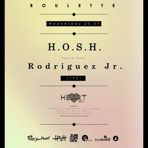 H.O.S.H. @ Roulette Opening at Heart Ibiza - 20 July 2016
