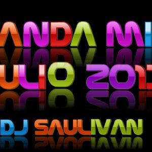 BANDA MIX JULIO 2013- DJ SAULIVAN