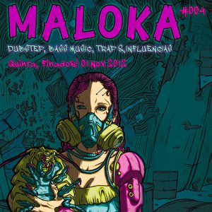 "Maloka Dubstep #4 - B-CODE ""Wobble Premiere"" Promo Minimix"