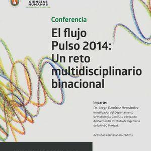 Conferencia: El flujo Pulso. Ing. Jorge Ramírez.