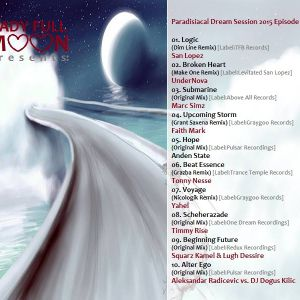 Lady Full Moon - Paradisiacal Dream Session 2015 (005) - Trance Energy Radio