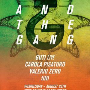 tINI b2b Guti (live) @ Sirocco Beach Club - Ibiza (28-08-2013)