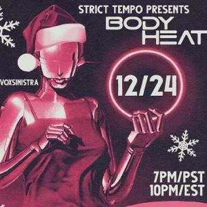 Strict Tempo 'Body Heat' Italo Disco Christmas